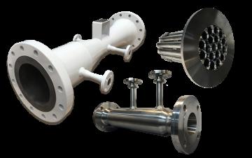 DP Flow meters including Venturi flow tubes and Flow straightener