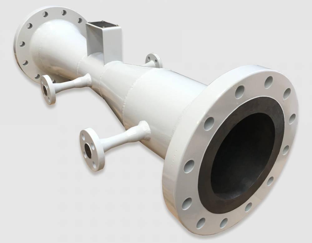 Venturi with 2 pressure sensor mounts Manufactured by EMI